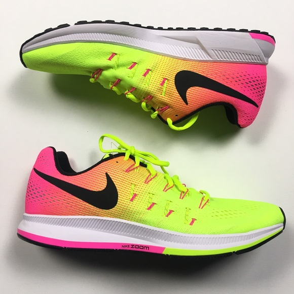 the latest f2522 aab8b Nike Air Zoom Pegasus 33 OC Olympic Rio Volt Pink